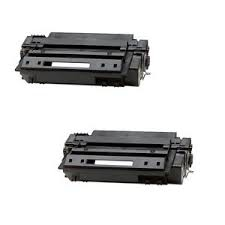 Compatible HP LaserJet 2400 Series Toner Cartridge (2/PK-6000 Page Yield) (NO. 11A) (Q6511AD)