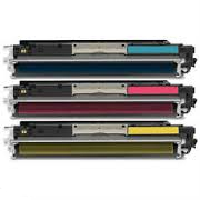 Compatible HP Color LaserJet 4700 Toner Cartridge Combo Pack (C/M/Y) (NO. 643A) (Q595CMY)