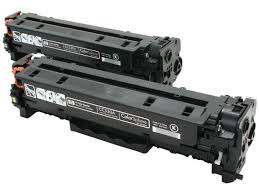 Compatible HP NO. 304A Black Toner Cartridge (2/PK-3500 Page Yield) (CC530AD)