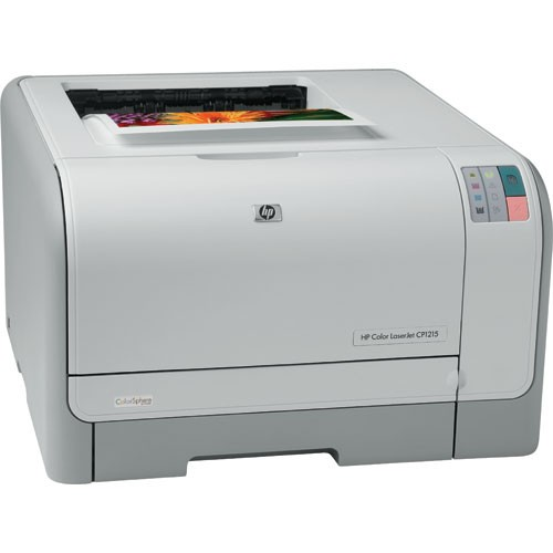 Refurbish Hewlett Packard Color Laserjet CP-1215 Laser Printer (CC376A)