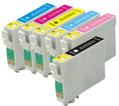 Compatible Epson NO.79 Multipack Ink Cartridge (BK/C/M/Y/PC/PM)