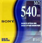 Sony 3.5in Rewritable Optical Disc (540MB) (EDM-540C)
