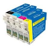 Compatible Epson NO. 127 Inkjet Combo Pack (BK/C/M/Y) (T127MP)