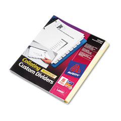 Avery Direct Print Dividers (8-Tab/4-Sets PK) (11540)