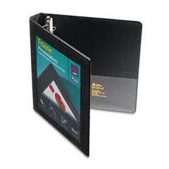 Avery Black Locking View Binder (1in) (68054)