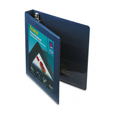 Avery Navy Blue Locking View Binder (1in) (68055)