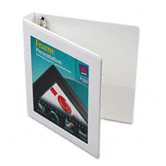 Avery White Locking View Binder (1in) (68056)