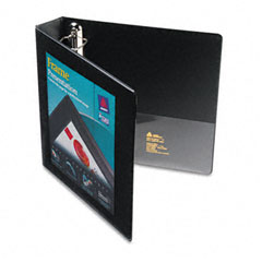 Avery Black Locking View Binder (1-1/2in) (68058)