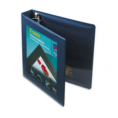 Avery Navy Blue Locking View Binder (1-1/2in) (68059)