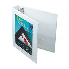 Avery White Locking View Binder (1-1/2in) (68060)