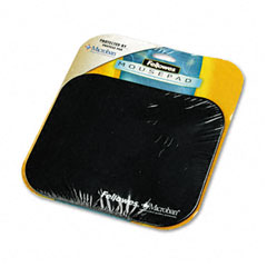 Fellowes Black Mouse Pad with Microban Protection (5933901)