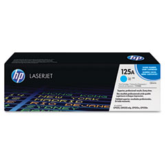 Hewlett Packard No.125A Cyan ColorSphere Smart Print Cartridge (1400 Page Yield) (CB541A)