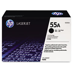 Hewlett Packard LaserJet P3010/3015 Smart Print Cartridge (6000 Page Yield) (CE255A)