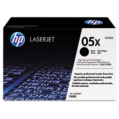 Hewlett Packard Laserjet P2050/2055 Toner Cartridge (6500 Page Yield) (CE505X)