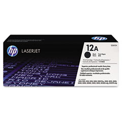 Hewlett Packard Laserjet 1010/3055 Ultraprecise Print Cartridge (2000 Page Yield) (Q2612A)