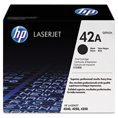 Hewlett Packard Laserjet 4250/4350 Toner Cartridge (10000 Page Yield) (Q5942A)
