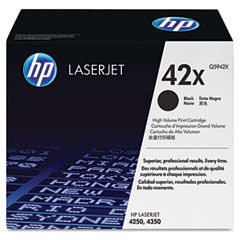 Hewlett Packard Laserjet 4250/4350 Toner Cartridge (20000 Page Yield) (Q5942X)