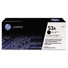 Hewlett Packard Laserjet P2015 Print Cartridge (3300 Page Yield) (Q7553A)