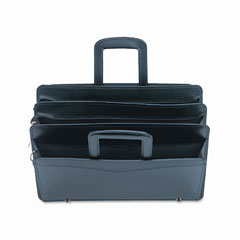 Universal Black Leather Pocket Portfolio (16-1/2w x 2-1/2d x 11-1/2h) (31600)