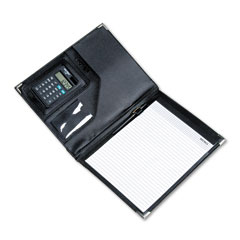 Victor 1135BK Vinyl Pad Holder w/Solar Calculator