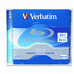 Verbatim BD-R 25GB 2x Branded 1PK Jewelcase (95357)