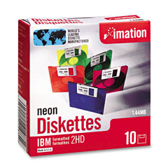 Imation DS/HD 3.5in Diskettes (10/PK) (41483)